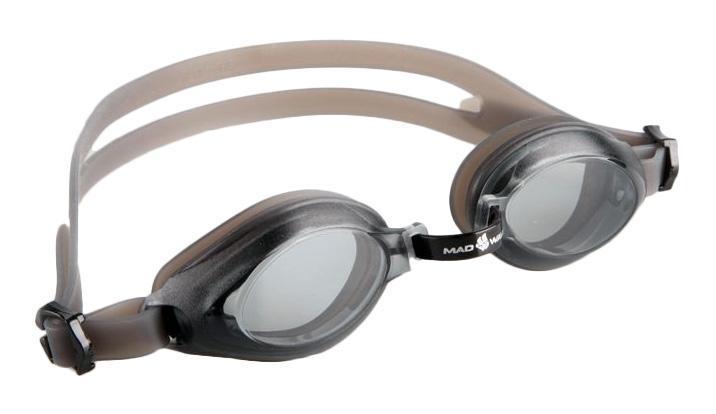 Очки для плавания MadWave Junior Aqua, цвет: черныйJ504N-9093Очки для плавания MadWave Junior Aqua - удобные юниорские очки для повседневных тренировок. Защита от ультрафиолетовых лучей. Антизапотевающие стекла. Линзы из поликарбоната. Регулируемая мультиступенчатая переносица. Силиконовый обтюратор и ремешок. Характеристики:Цвет: черный. Материал: поликарбонат, силикон. Размер наглазника: 5,5 см х 3,5 см. Изготовитель: Китай. Размер упаковки: 17 см х 6 см х 3 см.