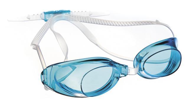 Очки для плавания MadWave Liquid Racing, цвет: голубой шапочка для плавания madwave madwave ma991dkiwh88