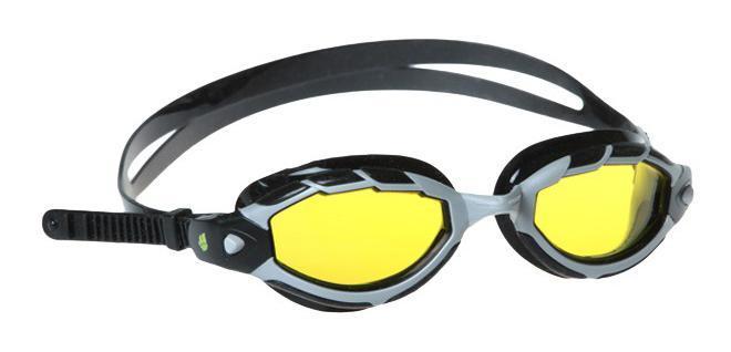 Очки для плавания MadWave Shark, цвет: желтый8-093003540Удобные регилируемые очки для частых тренировок, широкий угол обзора, идеальны для закрытой и открытой воды. UV - UV 400. Автоматическая система регулировки ремешков. Защита от ультрафиолетовых лучей. Улучшенная антизапотевающая защита стекла благодаря внедрению антифога капиллярным способом. Целлюлозополимерные линзы. Вид переносицы — моноблок. Рамка — полипропилен. Обтюратор — мягкий силикон. Силиконовый ремешок. Комплектация:Очки.Чехол. Характеристики: Материал: силикон, поликарбонат, резина. Размер очков: 17,5 см х 4,5 см. Цвет: желтый. Размер упаковки: 18,5 см х 6,5 см х 4 см. Артикул: M0431 07 0 06W.