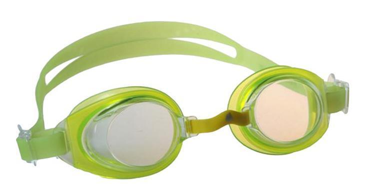 Очки для плавания MadWave Simpler II Junior, цвет: желтый шапочка для плавания madwave madwave ma991dkiwh88