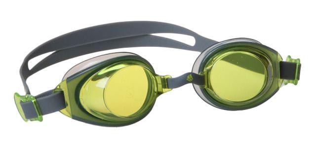 Очки для плавания MadWave Simpler II, цвет: серый, желтый сланцы madwave madwave ma991akffh77
