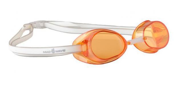 Очки для плавания стартовые MadWave Racer SW, цвет: оранжевый527Классические стартовые очки MadWave Racer SW. Двойной силиконовый ремешок с затылочной клипсой для надёжной фиксации очков. Линзы из поликарбоната без обтюратора. Антизапотевающие стекла. Защита от ультрафиолетовых лучей. Настраиваемая индивидуально трубчатая переносица позволяет собрать очки под любой тип лица. Характеристики:Цвет: оранжевый. Материал: поликарбонат, силикон. Размер наглазника: 6 см х 3,5 см. Изготовитель: Китай. Размер упаковки: 11 см х 9 см х 4 см.