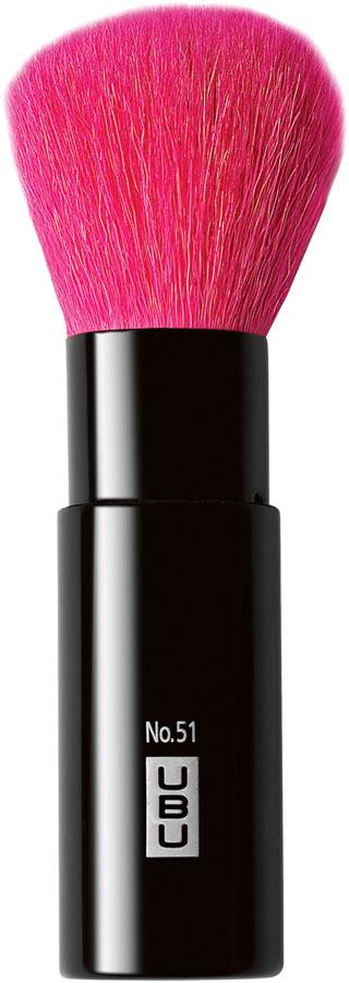 UBU Кисть для пудры, выкручивающаяся, №51. 19-50501301210Универсальный инструмент для создания безупречного макияжа! Благодаря выдвижному футляру, вы можете всегда носить ее с собой, не опасаясь повреждений и загрязнений. Снимите крышку, вставьте в нее рукоятку, и кисть выдвинется, готовая к нанесению пудры, тональной основы, бронзантов и шиммеров. После использования, задвиньте кисть, потянув крышку вниз, и помести крышку на место.Товар сертифицирован.