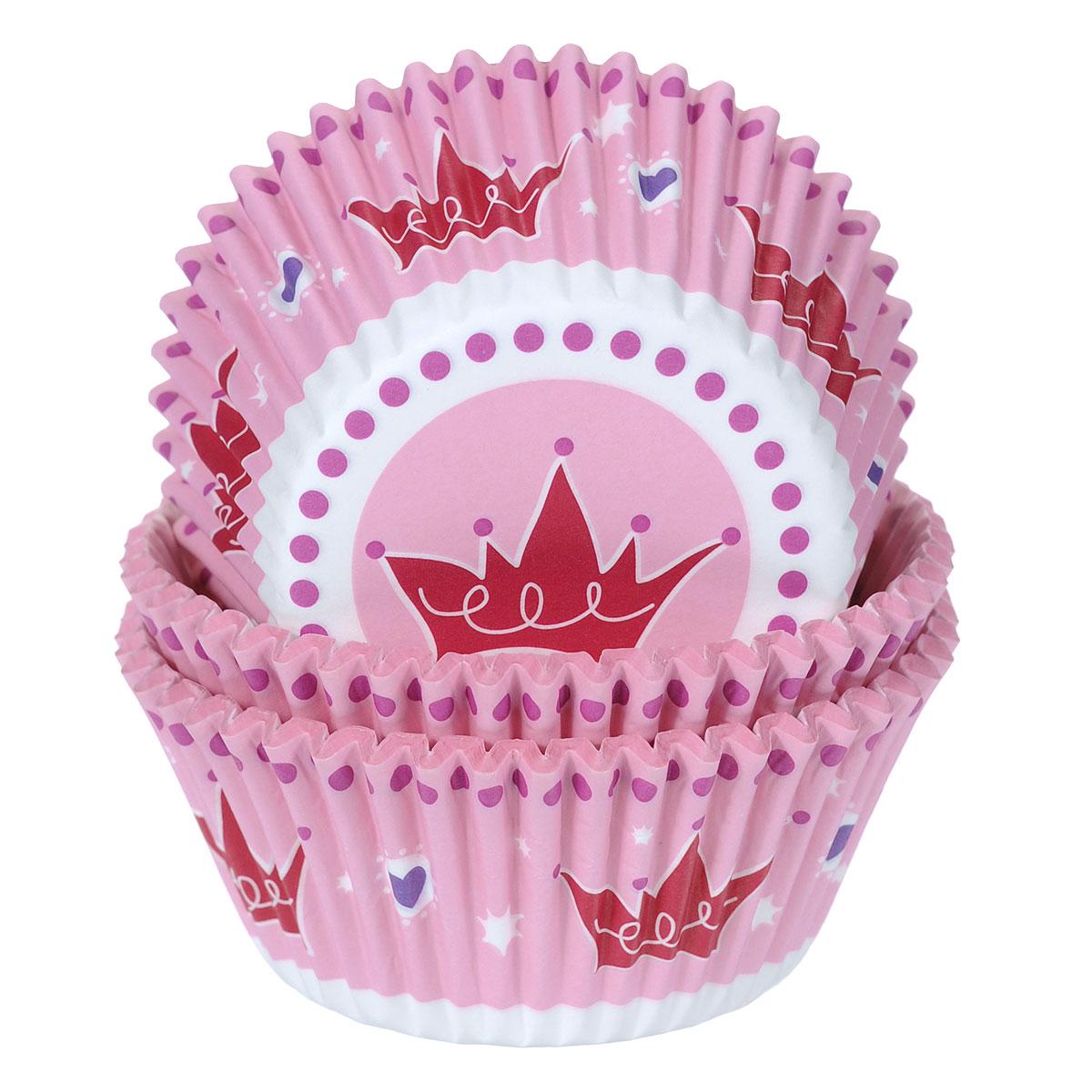Набор бумажных форм для кексов Wilton Принцесса, диаметр 7 см, 75 шт94672Бумажные формы Wilton Принцесса используются для выпечки, украшения и упаковки кондитерских изделий, сервировки конфет, орешков, десертов. Края форм гофрированные. С такими формами вы всегда сможете порадовать своих близких оригинальной выпечкой.