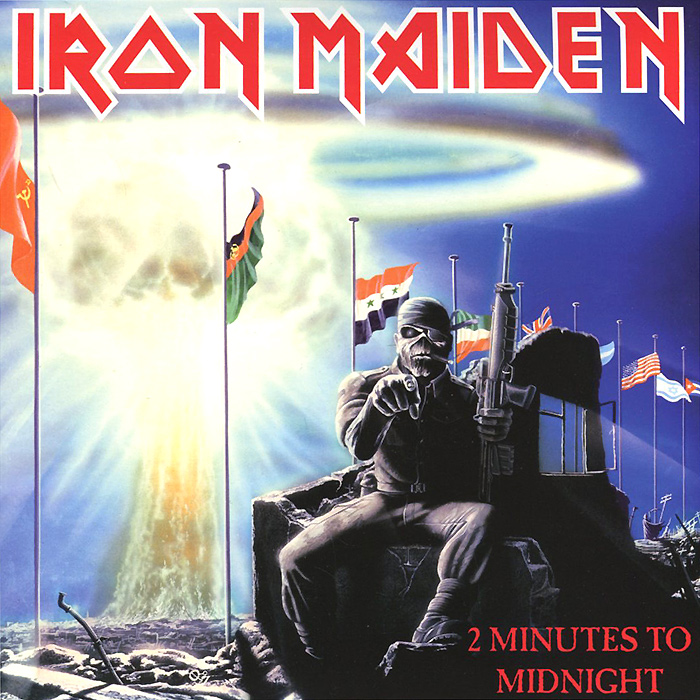 Iron Maiden Iron Maiden. 2 Minutes To Midnight (LP) thiosemicarbazone iron chelator
