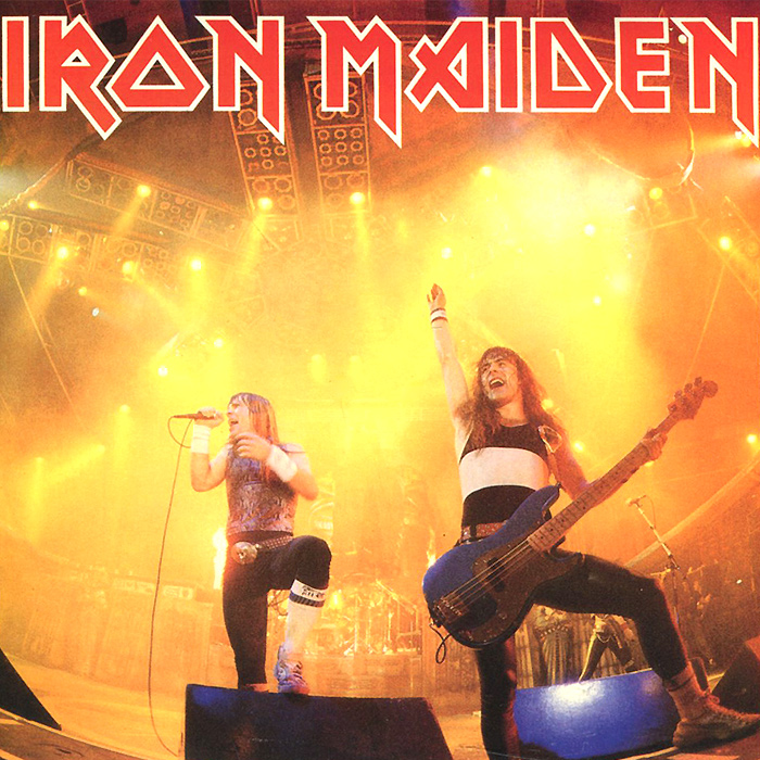 Iron Maiden Iron Maiden. Running Free (live) (LP) iron maiden – the book of souls live chapter 3 lp