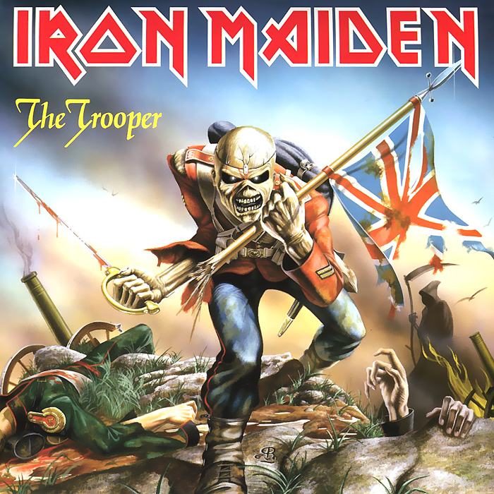 Iron Maiden Iron Maiden. The Trooper (LP) iron maiden the book of souls 3 lp