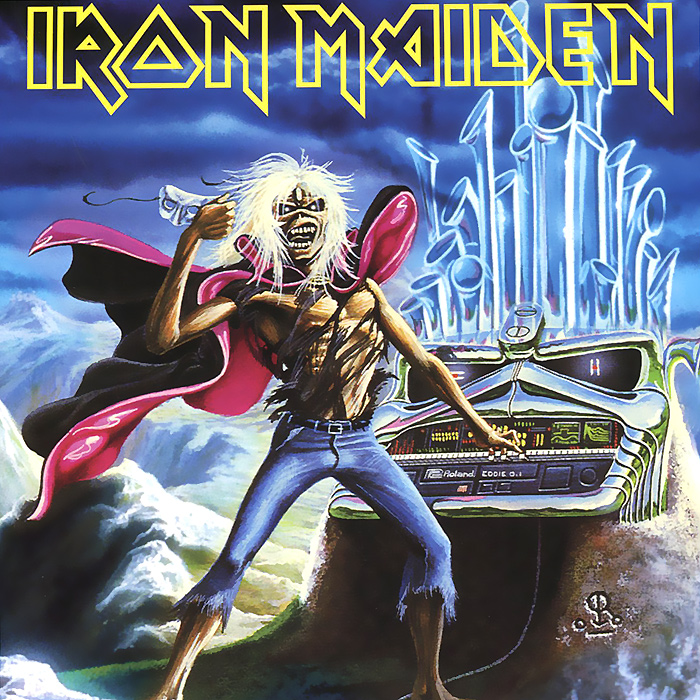 Iron Maiden Iron Maiden. Run to the Hills (live) (LP) iron maiden the book of souls 3 lp