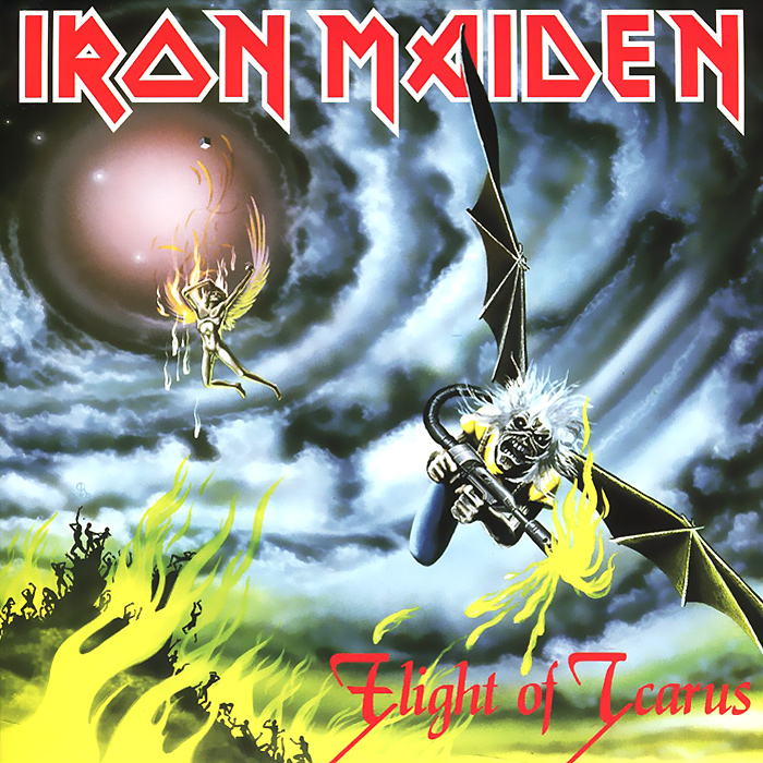 Iron Maiden Iron Maiden. Flight Of Icarus (LP) fates warning fates warning theories of flight 2 lp cd