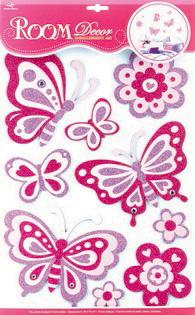 Наклейки для интерьера Room Decoration Волшебные бабочки, 41 х 29 см