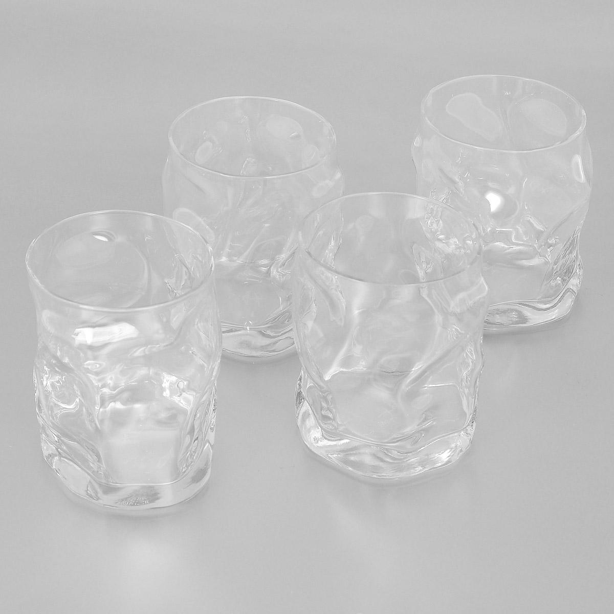 Набор стаканов Bormioli Rocco Sorgente, 420 мл, 4 штVT-1520(SR)Набор Bormioli Rocco Sorgente, выполненный из стекла, состоит из 4 низких стаканов. Стаканы предназначены для подачи холодных напитков. Изделия имеют оригинальный дизайн, который поможет украсить любой праздничный стол. Благодаря такому набору пить напитки будет еще вкуснее.Стаканы Bormioli Rocco Sorgente станут отличным подарком к любому празднику. С 1825 года компания Bormioli Rocco производит высококачественную посуду из стекла. На сегодняшний день это мировой лидер на рынке производства стеклянных изделий. Ассортимент, предлагаемый Bormioli Rocco необычайно широк - это бокалы, фужеры, рюмки, графины, кувшины, банки для сыпучих продуктов и консервирования, тарелки, салатники, чашки, контейнеры различных емкостей, предназначенные для хранения продуктов в холодильниках и морозильных камерах и т.д. Стекло сочетает в себе передовые технологии и традиционно высокое качество.