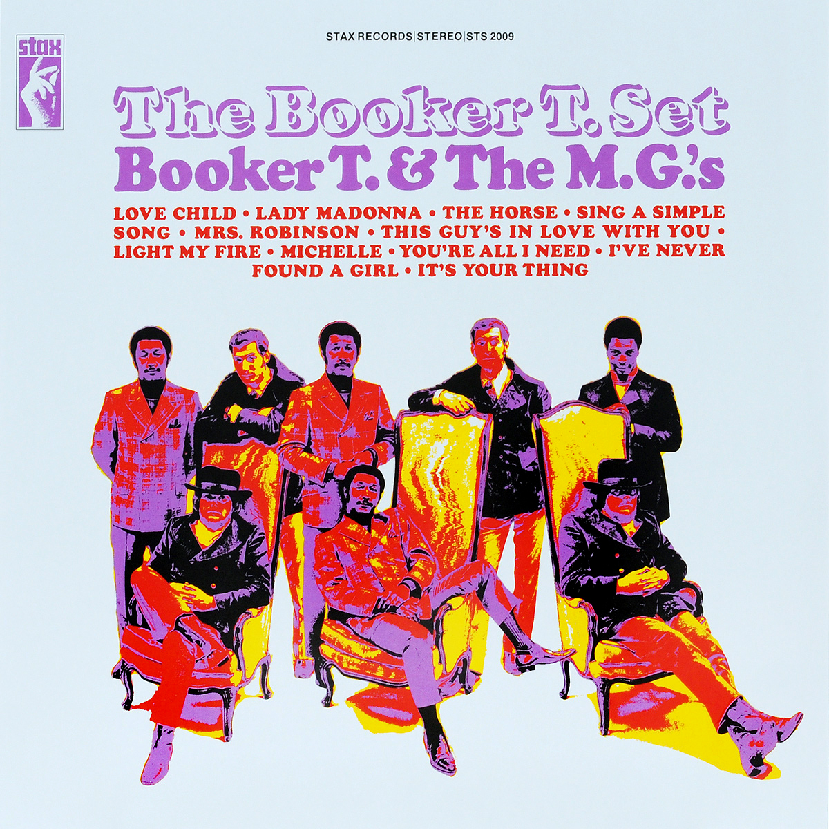 Booker T. & The MG's Booker T & The MG's. The Booker T. Set (LP) brad booker