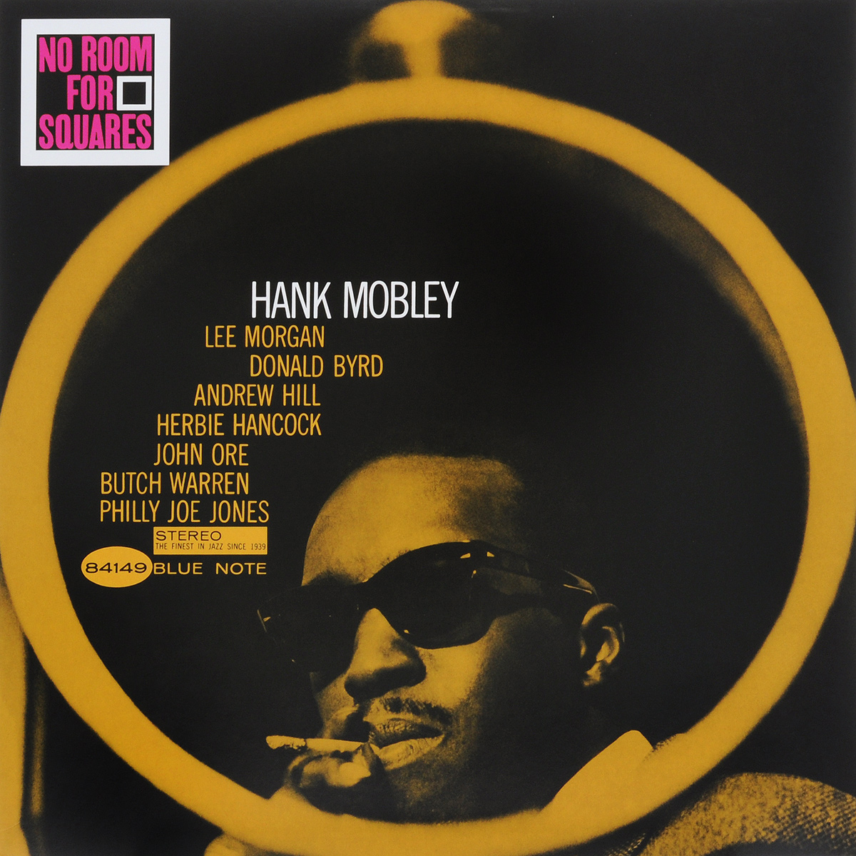 Hank Mobley. No Room For Squares (LP) colin escott hank williams the biography
