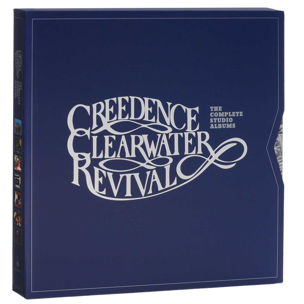 Creedence Clearwater Revival Creedence Clearwater Revival. The Complete Studio Albums (7 LP) creedence clearwater revival – willy and the poor boys lp