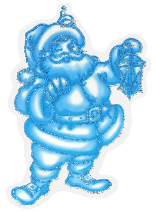 Новогоднее оконное украшение Санта Клаус, 10,5 х 16 см60446Новогоднее оконное украшение Санта Клаус поможет украсить дом к предстоящим праздникам. Наклейка выполнена в виде Санты Клауса. Наклейка декорирована блестками. Новогодние украшения всегда несут в себе волшебство и красоту праздника. Создайте в своем доме атмосферу тепла, веселья и радости, украшая его всей семьей.Материал: виниловая пленка.Размер наклейки: 10,5 см х 16 см.