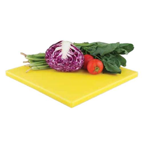 Доска разделочная Zanussi, цвет: желтый, 35 х 35 см115510Разделочная доска Zanussi изготовлена из высококачественного пластика высокой плотности, что обеспечивает превосходную стойкость к химическим веществам, износу и влаге. Текстурированная поверхность удерживает пищу на месте, не давая ей скользить. Простота в использовании, надежность, безопасность и незначительная потребность в уходе. Ножи не теряют остроты при резке на разделочной доске. Обе поверхности доски рабочие. Это сокращает риск перекрестного бактериального загрязнения при приготовлении пищи. Простота чистки и пригодность для мойки в посудомоечной машине. Не ставьте на доску тяжелые или горячие предметы.
