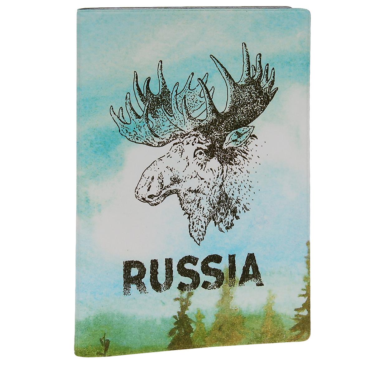Обложка для паспорта Лось. OZAM30054019-65# CoffeeОбложка для паспорта Mitya Veselkov Лось выполнена из прочного ПВХ и оформлена изображением головы лося и надписью Russia. Такая обложка не только поможет сохранить внешний вид ваших документов и защитит их от повреждений, но и станет стильным аксессуаром, идеально подходящим вашему образу.Яркая и оригинальная обложка подчеркнет вашу индивидуальность и изысканный вкус. Обложка для паспорта стильного дизайна может быть достойным и оригинальным подарком.