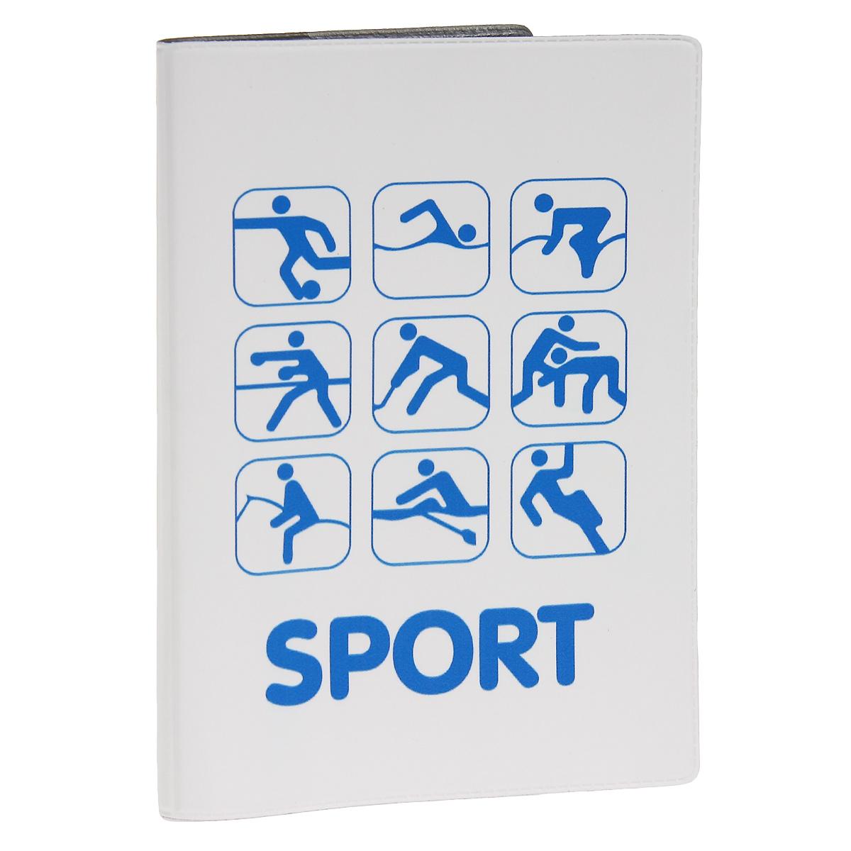 Обложка для автодокументов Sport. AUTOZAM2862111Обложка для автодокументов Mitya Veselkov Sport изготовлена из прочного ПВХ белого цвета и оформлена изображениями значков, каждый из которых олицетворяет один из видов спорта. На внутреннем развороте имеются съемный блок из шести прозрачных файлов из мягкого пластика для водительских документов, один из которых формата А5, а также два боковых кармашка для визиток или банковских карт.Стильная обложка не только поможет сохранить внешний вид ваших документов и защитит их от грязи и пыли, но и станет аксессуаром, который подчеркнет вашу яркую индивидуальность.
