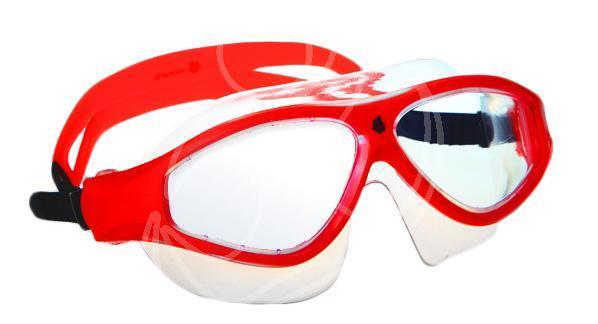 Маска для плавания MadWave Flame Mask, цвет: красныйM0461 02 0 05WМаска для водных видов спорта с автоматической системой регулировки ремешков на корпусе. Закрывает чувствительную зону вокруг глаз. Улучшенная антизапотевающая защита стекла благодаря внедрению антифога капиллярным способом. Защита от ультрофиолетовых лучей UV 400. Целлюлозополимерные линзы. Вид переносицы — моноблок. Рамка — полипропилен, обтюратор — термопластичная резина. Силиконовый ремешок.Комплектация:Маска.Чехол. Характеристики: Материал: силикон, поликарбонат, резина. Размер маски: 17,5 см х 6,5 см. Цвет: красный. Размер упаковки: 20 см х 8 см х 6 см. Артикул: M0461 02 0 05W.