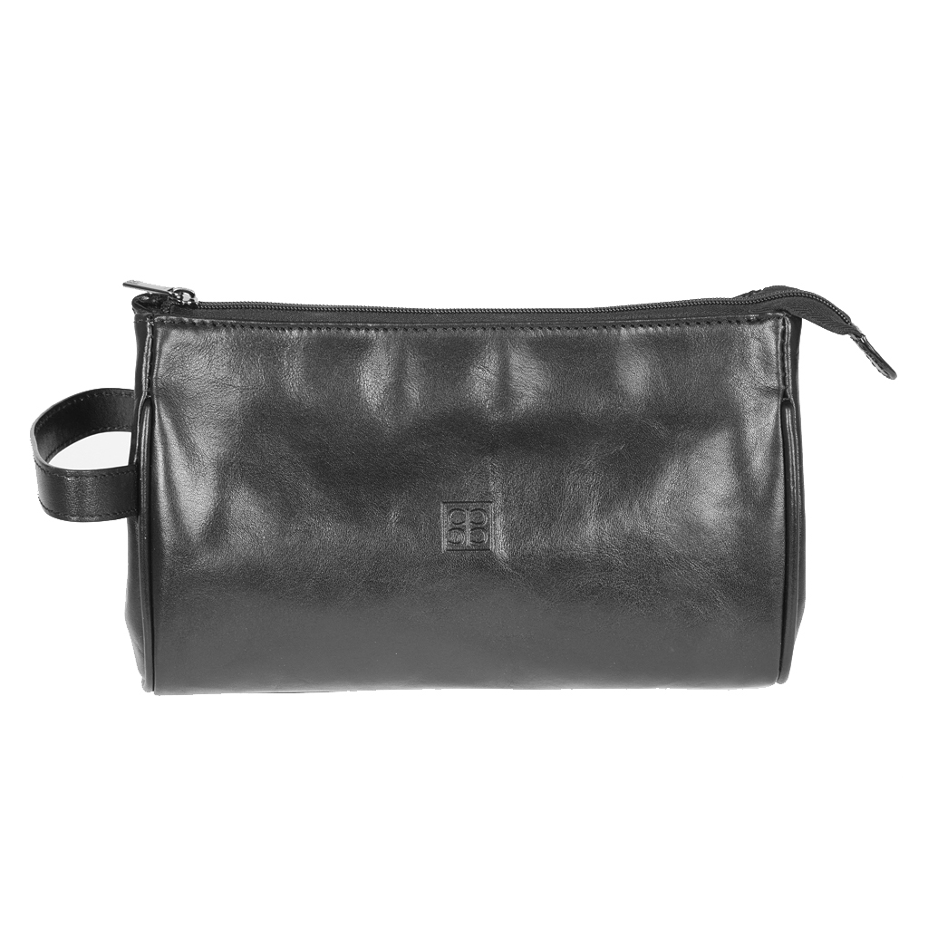 Несессер Sergio Belotti, цвет: черный milano black. 976371069с-2Несессер Sergio Belotti выполнен из высококачественной мягкой кожи. Имеет одно вместительное отделение на застежке-молнии. Внутри - вшитый карман на молнии и накладной открытый карман. Несессер оснащен боковой ручкой для переноски.К несессеру прилагается чехол для хранения.Этот стильный аксессуар станет изысканным дополнением к вашему образу.