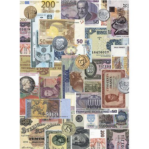 Рисовая бумага для декупажа Craft Premier Наличные, 28,2 х 38,4 см
