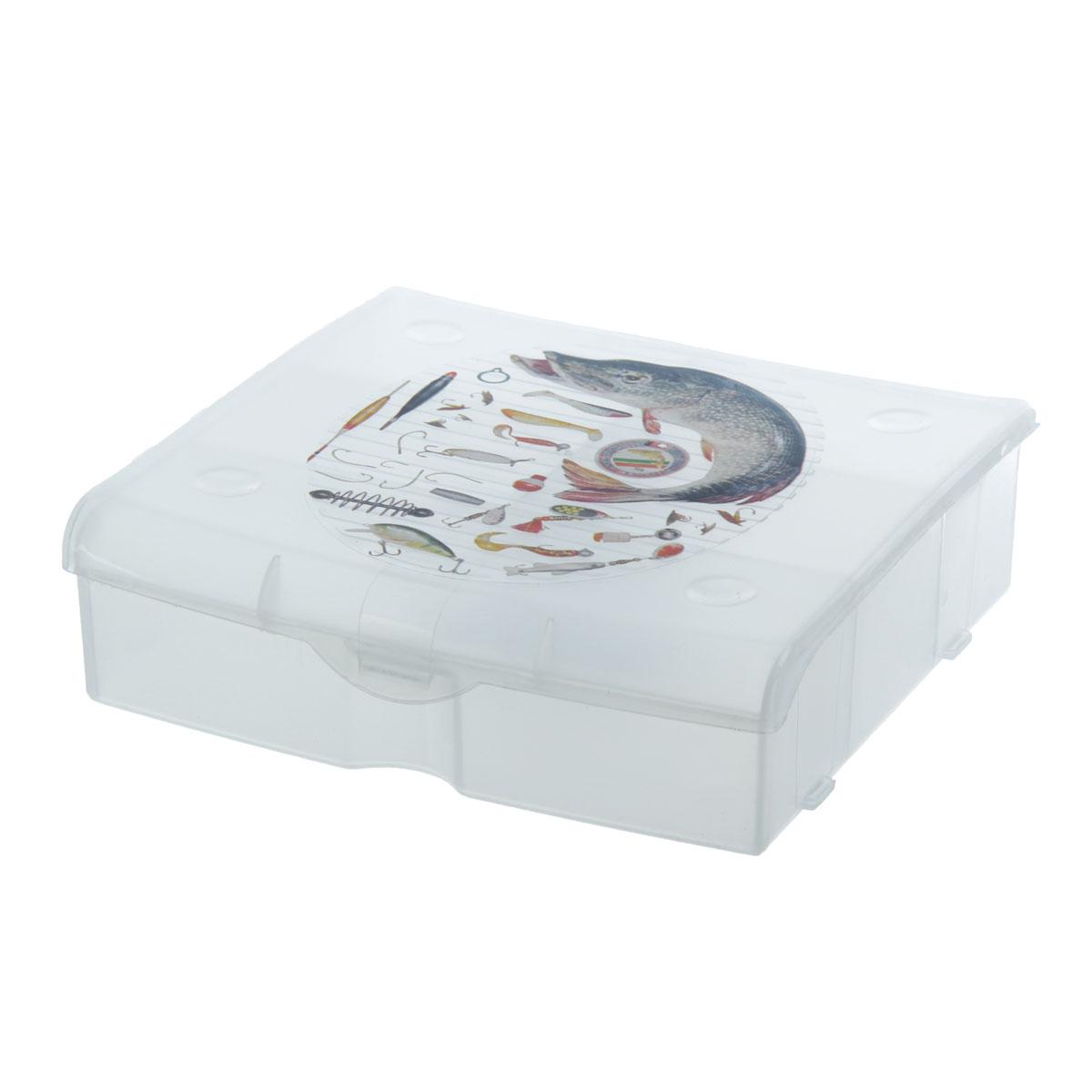 Бокс для хранения 5 ячеек 81293010936Бокс для рыболовных принадлежностей 5 ячеек 812930 Материал: Пластик