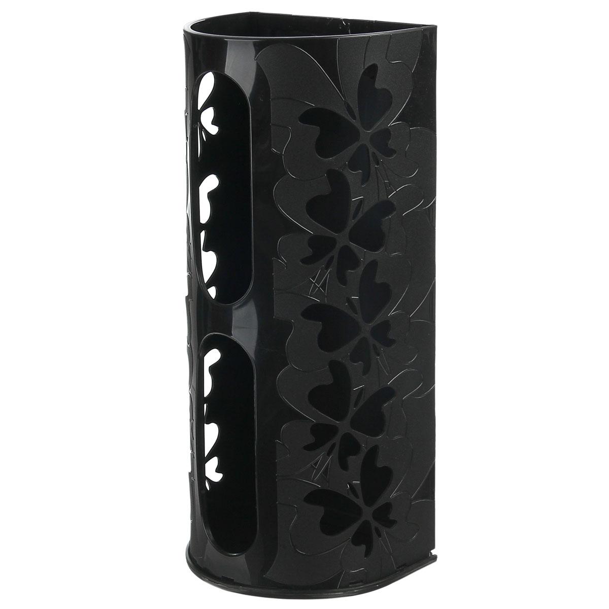 Корзина для пакетов Berossi Fly, цвет: черный12723Корзина для пакетов Berossi Fly, изготовлена из высококачественного пластика. Эта практичная корзина наведет порядок в кладовке или кухонном шкафу и позволит хранить пластиковые пакеты или хозяйственные сумочки во всегда доступном месте! Изделие декорировано резным изображением бабочек. Корзина просто подвешивается на дверь шкафчика изнутри или снаружи, в зависимости от назначения. Корзина для пакетов Berossi Fly будет замечательным подарком для поддержания чистоты и порядка. Она сэкономит место, гармонично впишется в интерьер и будет радовать вас уникальным дизайном.Размер корзины (в собранном виде): 37 х 13 х 16 см.