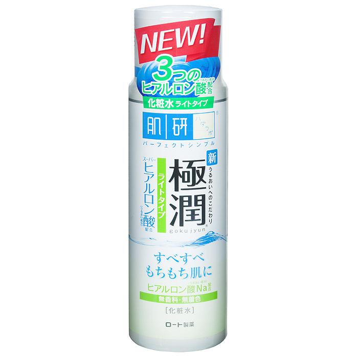 Hada Labo Легкий лосьон-гидратор, для нормальной и жирной кожи лица, 170 млFS-00103Увлажняющий лосьон Hada Labo для жирной и нормальной кожи лица с гиалуроновой кислотой.Быстро впитывается, не закупоривает поры, обладает матирующим эффектом, снимает покраснения и раздражения. Янтарная кислота, входящая в состав лосьона, оказывает мощнейшее оздоровительное действие, не вызывая побочных эффектов и привыкания.Лосьон не содержит минеральных масел, алкоголя, красителей или отдушек.Способприменения: использовать после умывания (очищения кожи).2-3 капли средствананести на лицо похлопывающими движениями. Характеристики:Объем: 170 мл. Артикул: 127030. Производитель: Япония. Товар сертифицирован.