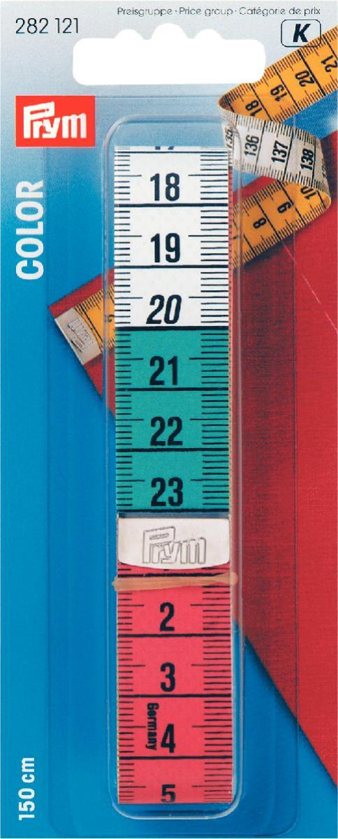 Лента измерительная Prym, длина 150 см7701654_32 голубойИзмерительная лента Prym изготовлена из стекловолокна с сантиметровой шкалой с одной стороны и дециметровой с другой. Одна сторона ленты цветная, другая сторона - желтого цвета.Измерительная лента - это незаменимый измерительный инструмент, без которого не сможет обойтись не один портной. Размер ленты: 1,9 см х 150 см. Материал: стекловолокно, металл.