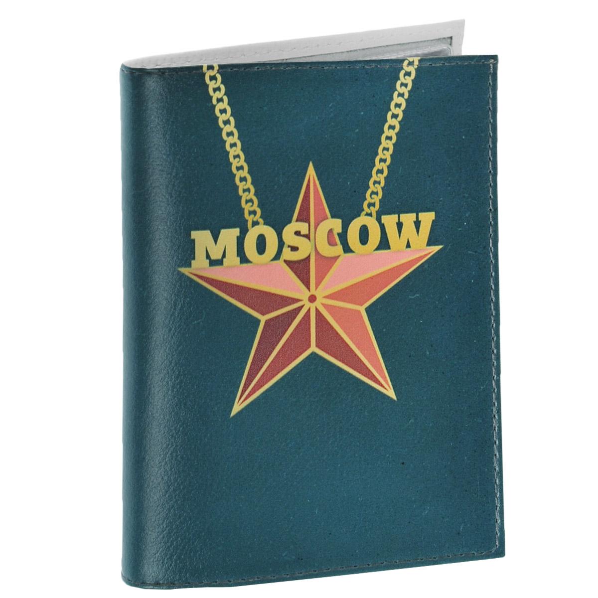 Обложка для автодокументов Moscow Star. AUTO276891Обложка для автодокументов Mitya Veselkov Moscow Star изготовлена из натуральной кожи белого цвета и оформлена изображением красной пятиконечной звезды, подвешенной на цепочку, и надписью Moscow. На внутреннем развороте имеются съемный блок из шести прозрачных файлов из мягкого пластика для водительских документов, один из которых формата А5, а также два боковых кармашка для визиток или банковских карт.Стильная обложка не только поможет сохранить внешний вид ваших документов и защитит их отгрязи и пыли, но и станет аксессуаром, который подчеркнет вашу яркую индивидуальность.