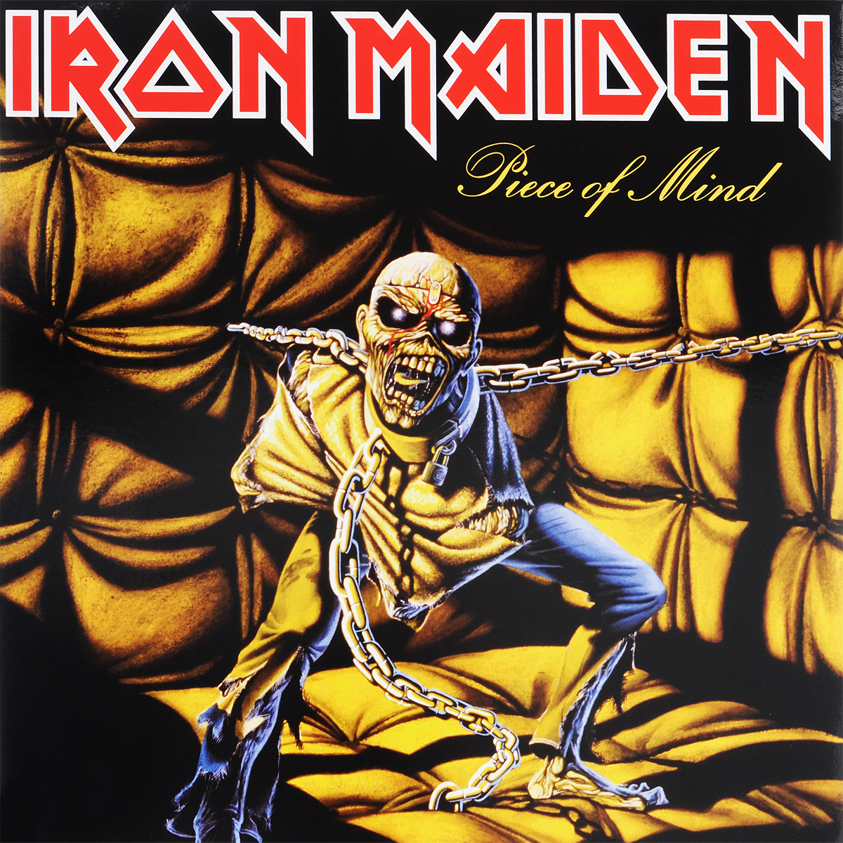 Iron Maiden Iron Maiden. Piece Of Mind (LP) свитшот print bar iron maiden piece of mind