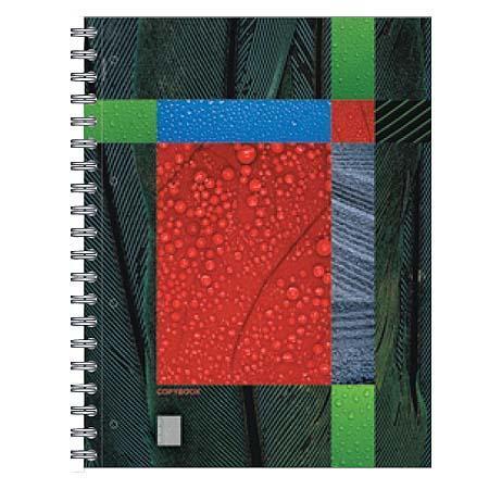 Полиграфика Тетрадь А4 120л Eco-Texture, жесткий ламинат (глянцевый)72523WDОбложка:картон жесткий ламинированный 170 г/м2. Блок: бумага офсетная 60 г/м2