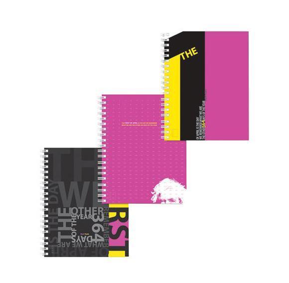 Полиграфика Тетрадь А4 120л The first of April, жесткий ламинат (глянцевый), цвет: черный72523WDОбложка:картон жесткий ламинированный 170 г/м2. Блок: бумага офсетная 60 г/м2