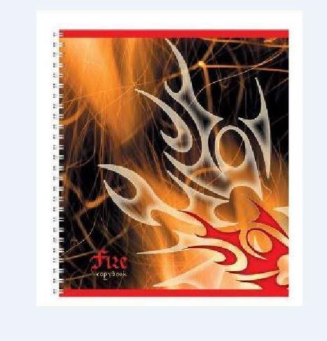 Полиграфика Тетрадь на спирали, 60л Пламя, УФ-лак72523WDОбложка:картон мелованный 170 г/м2. Блок: бумага офсетная 55 г/м2