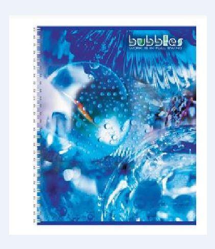 Полиграфика Тетрадь на спирали, 96л Bubbles72523WDОбложка:картон мелованный 170 г/м2. Блок: бумага офсетная 55 г/м2