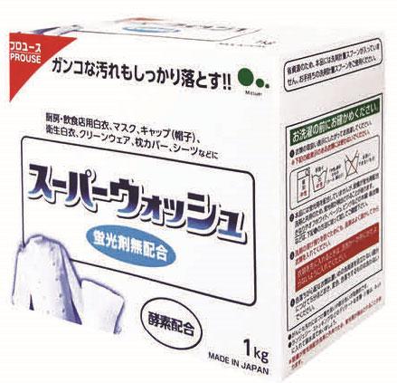 Стиральный порошок для белого белья Mitsuei Super Wash, 1 кг935039Стиральный порошок Mitsuei Super Wash предназначен для стирки белого белья. Ферменты в составе средства расщепляют любые сложные загрязнения и значительно повышают отстирывающую способность, способствуют тщательному бережному отбеливанию, не разрушая структуру ткани, с легкостью вымываются из волокон ткани. Благодаря сверхсильным отбеливающим свойствам порошка вы сможете насладиться сияющей белизной вашего белья. Подходит для льна, хлопка и комбинированного волокна. Содержит вещества, смягчающие воду. Состав: ПАВ (15% линейный акрил бензен сульфонат натрия), щелочной агент (соль угольной кислоты), стабилизатор (сульфат), смягчитель воды (алюмосиликат), ферменты. Вес: 1 кг. Товар сертифицирован.