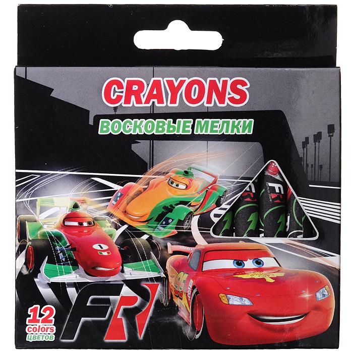Восковые мелки Cars, 12 цветовFS-36055Восковые мелки Cars откроют юным художникам новые горизонты для творчества, а также помогут развить мелкую моторику рук, цветовое восприятие, фантазию и воображение. Самозатачивающиеся мелки предназначены для рисования на картоне и бумаге и созданы специально для детских ручек. Мягкие, они не требуют сильного нажима. Мелки можно стирать как карандаш ластиком. В набор входят восковые мелки 12 ярких насыщенных цветов, обернутых в бумажную гильзу, что позволит сохранить руки ребенка чистыми.