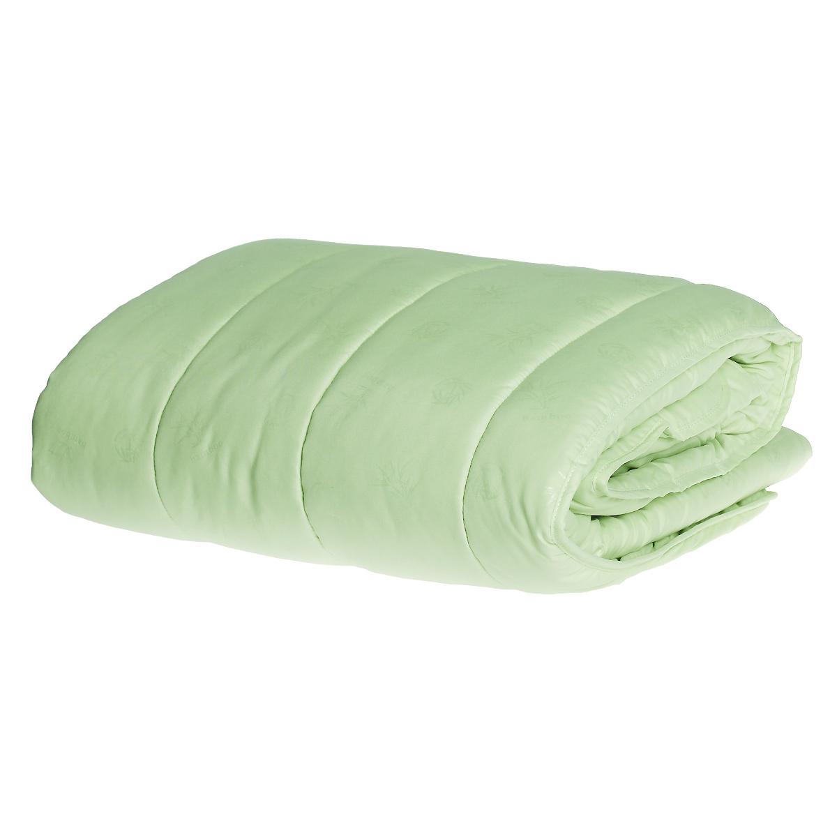 Одеяло облегченное OL-Tex Miotex, наполнитель: волокно бамбука, цвет: фисташковый, 172 х 205 см200(32)04-ОШТеплое и уютное одеяло OL-Tex Miotex подарит комфорт и уют во время сна. Чехол изделия выполнен из микрофибры фисташкового цвета, оформлен стежкой и кантом по краю. Стежка равномерно удержит наполнитель в чехле, а окантовка держит форму изделия. Обладает всеми полезными свойствами бамбукового волокна - не накапливает пыль и запахи, совершенно антиаллергенно. Не теряет своих качеств при многократных стирках. Легкое летнее одеяло, за которым легко ухаживать - прекрасный выбор. Рекомендации по уходу:- Ручная и машинная стирка при температуре 30°С.- Не гладить.- Не отбеливать. - Нельзя отжимать и сушить в стиральной машине.- Сушить вертикально. Размер одеяла: 172 см х 205 см. Материал чехла: микрофибра (100% полиэстер). Материал наполнителя: волокно бамбука. Плотность: 200 г/м2.