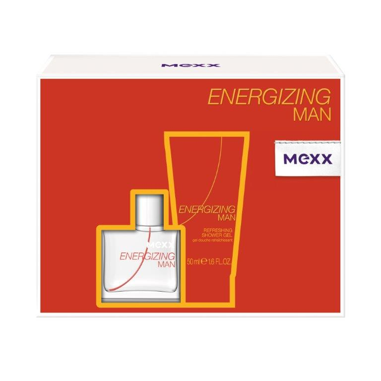 Mexx Подарочный набор Energizing Man, мужской: туалетная вода, гель для душаSC-FM20104Подарочный набор Mexx состоит из туалетной воды Energizing Man и парфюмерного геля для душа с одноименным ароматом. Предметы набора упакованы в подарочную коробку. Mexx Energizing Man - это квинтэссенция свежести и удивительных оттенков, которые поддерживают в тебе заряд бодрости в течение всего дня. Существует множество способов «подзарядить батарейки» в течение твоего обычного дня: поболтать с друзьями, посмеяться, послушать музыку, заняться спортом или - подзарядить батарейки с Mexx Energizing Man! Свежесть апельсина и экзотических фруктов, придает энергию! Новый день - новый старт. Наслаждайся началом своего дня вместе с Mexx Energizing. Mexx Energizing для него и для нее - это свежие, ароматы которые приятно носить на коже и которые придают тебе легкость и помогают наслаждаться каждым днем! Классификация аромата: древесный, фужерный.Пирамида аромата:Верхние ноты: апельсин, водяные ноты, грейпфрут.Ноты сердца: кедр, мускатный орех, полынь.Ноты шлейфа: мускус, пачули, янтарь.Ключевые словаБодрящий, свежий, энергичный!Туалетная вода - один из самых популярных видов парфюмерной продукции. Туалетная вода содержит 4-10%парфюмерного экстракта. Главные достоинства данного типа продукции заключаются в доступной цене, разнообразии форматов (как правило, 30, 50, 75, 100 мл), удобстве использования (чаще всего - спрей). Идеальна для дневного использования. Товар сертифицирован.