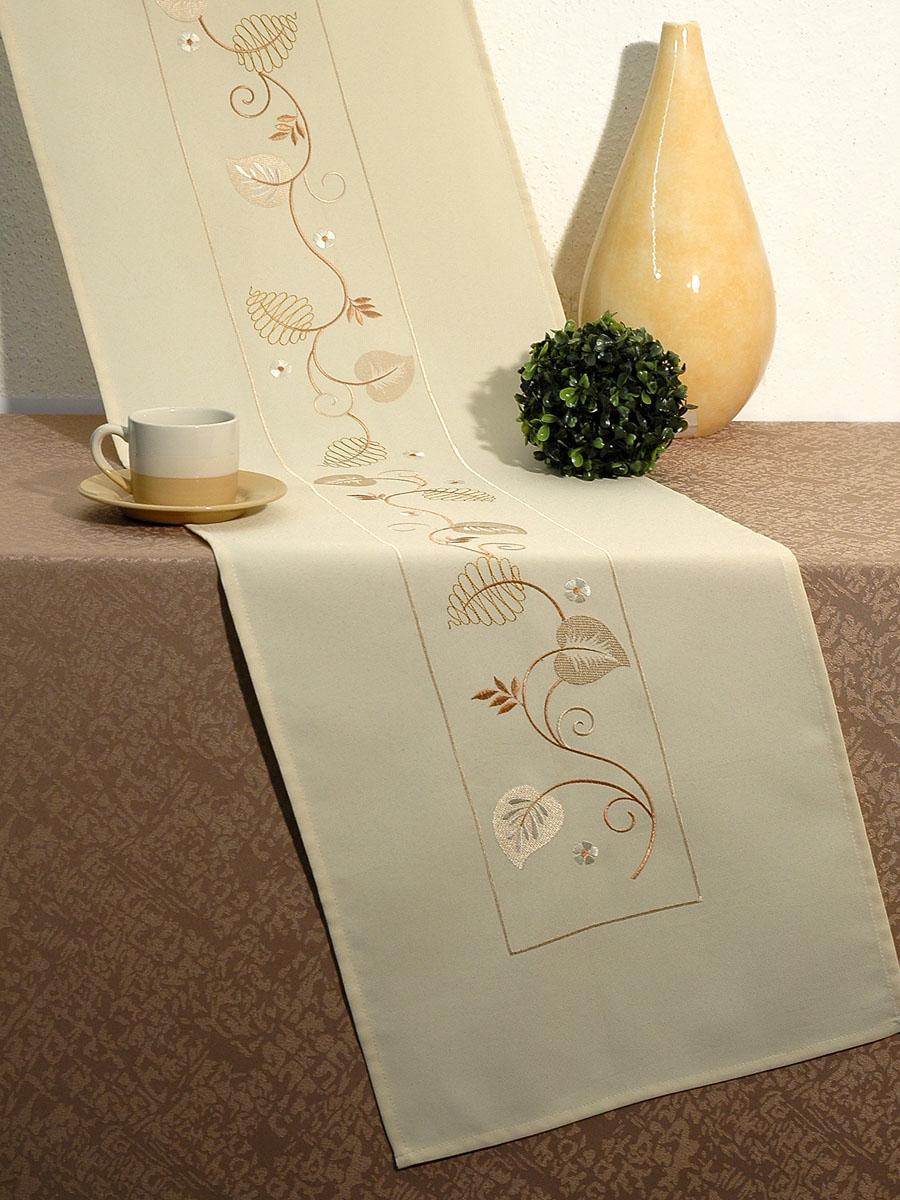 Дорожка для декорирования стола Schaefer, прямоугольная, цвет: кремовый, 40 x 100 см 07173-20207173-202Дорожка Schaefer выполнена из высококачественного полиэстера и украшена вышитым цветочным рисунком. Вы можете использовать дорожку для декорирования стола, комода или журнального столика.Благодаря такой дорожке вы защитите поверхность мебели от воды, пятен и механических воздействий, а также создадите атмосферу уюта и домашнего тепла в интерьере вашей квартиры. Изделия из искусственных волокон легко стирать: они не мнутся, не садятся и быстро сохнут, они более долговечны, чем изделия из натуральных волокон. Изысканный текстиль от немецкой компании Schaefer - это красота, стиль и уют в вашем доме. Дорожка органично впишется в интерьер любого помещения, а оригинальный дизайн удовлетворит даже самый изысканный вкус. Дарите себе и близким красоту каждый день!