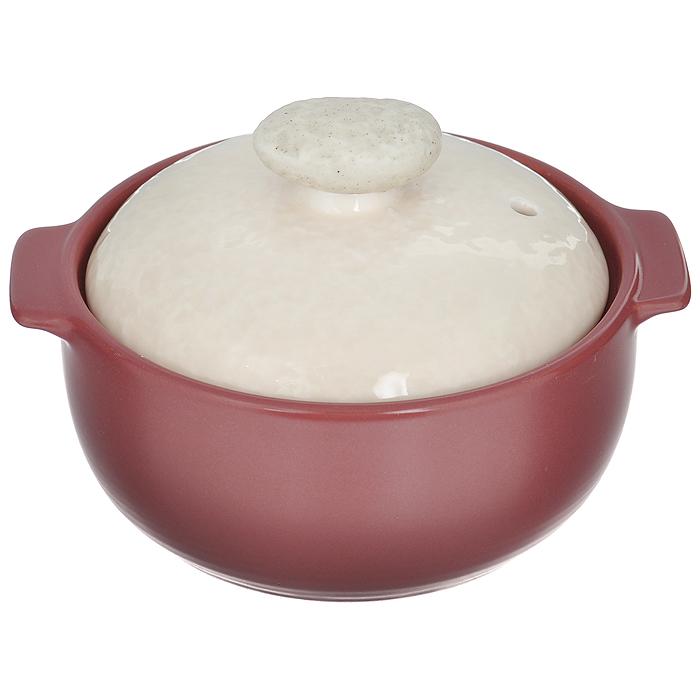 Кастрюля Frybest Charm с крышкой, с керамическим покрытием, 0,4 л391602Кастрюля Frybest Charm выполнена из жаропрочной керамики и идеально подходит для приготовления блюд, требующих длительного томления. Благодаря инновационному керамическому покрытию Ecolon Superior пища не пригорает и не прилипает. Дизайн кастрюли разработан так, чтобы теплообмен внутри нее был максимально эффективным. Керамика устойчива не только в высоким, но и к низким температурам - можно хранить в холодильной камере. Устойчивое к царапинам жаропрочное керамическое покрытие дополняет антибактериальный слой. Дизайн кастрюли как будто создан самой природой! В комплект входит керамическая крышка с отверстием для вывода пара и ручкой, выполненной из натурального камня. Особенности кастрюли Frybest Charm:- подходит для использования на различных источниках нагрева, - не вступает в реакцию с продуктами, нетоксична, не адсорбирует жиры и жидкости, - равномерно нагревается, - проводит инфракрасные лучи, способствующие приданию пищи более глубокого вкуса и аромата, - долго сохраняет пищу теплой. Можно использовать на электрической и газовой плитах, в духовом шкафу и микроволновой печи. Можно мыть в посудомоечной машине.