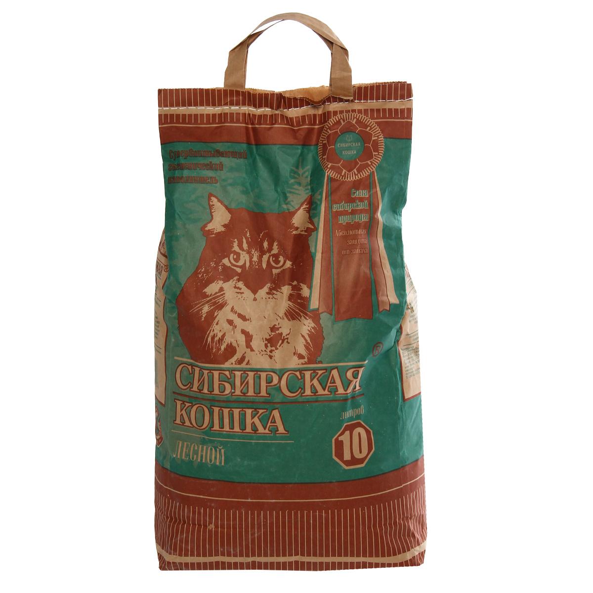 Наполнитель для кошачьих туалетов Сибирская Кошка Лесной, древесный, 10 лS07070100Экологически чистый супервпитывающий наполнитель для кошачьих туалетовСибирская Кошка Лесной производится из древесины хвойных пород вотсутствии каких-либо присадок. Его действие базируется на естественных свойстваххвойных деревьев, поглощать влагу и запахи. Впитываемоcть составляет 260-320%, что в 3раза превосходит характеристики обычных наполнителей. Дезинфицирующиекачества наполнителя содействуют уничтожению болезнетворных микробов.Обладает природным естественным запахом хвои.Наполнитель возможно использовать также как подстилку в клетках для кроликов, морских свинок, крыс и хомяков.Состав: древесина хвойных пород.Объем: 10 л.Товар сертифицирован.