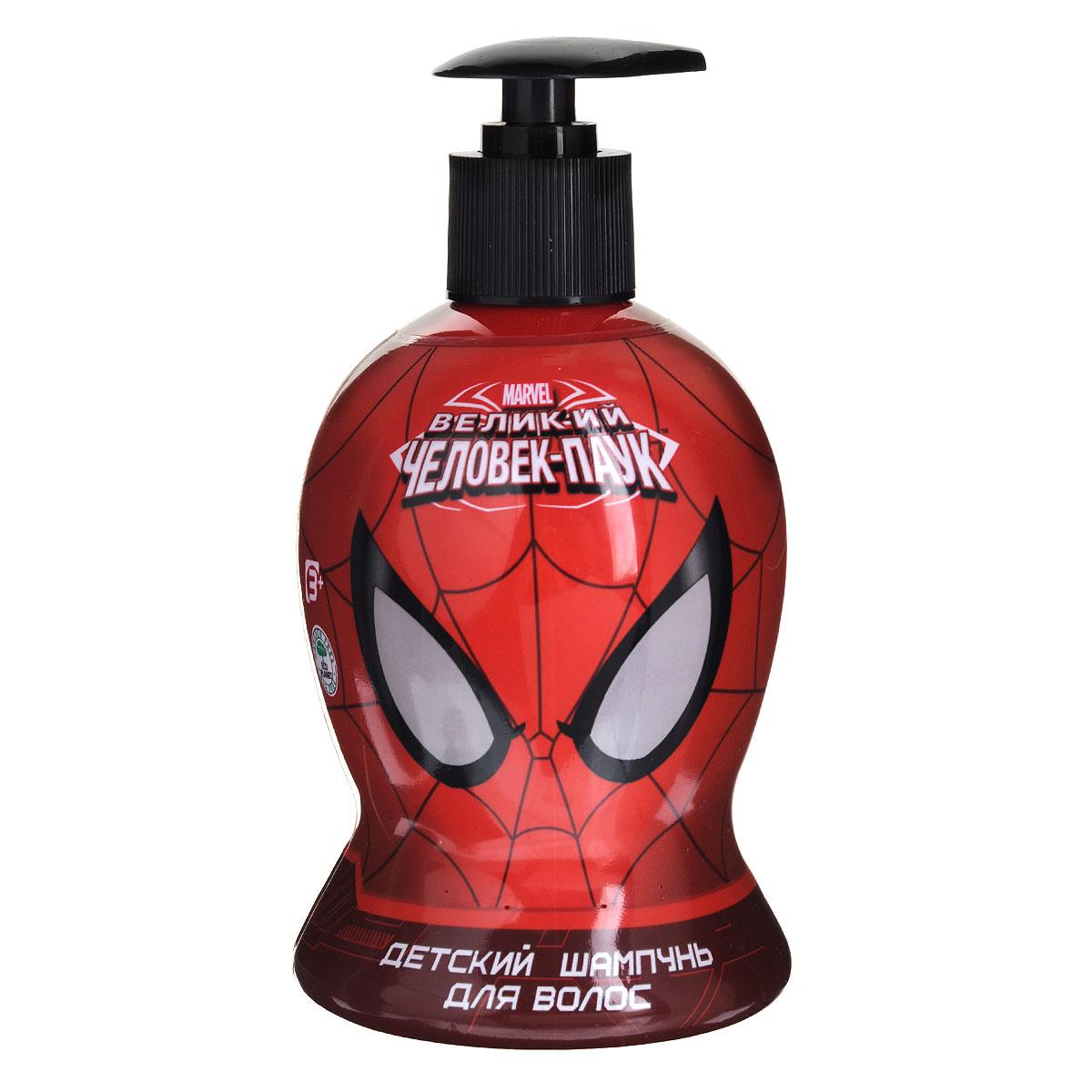 Spider-Man Шампунь Black is Black, детский, 480 млFS-54102Шампунь мягко очищает волосы и кожу головы, одновременно питает их полезными растительными экстрактами. Волосы становятся мягкими, шелковистыми, легко расчесываются. Приятный тонизирующий аромат заряжает великолепным настроением надолго. Линия средств для настоящего супер-героя! Товар сертифицирован.