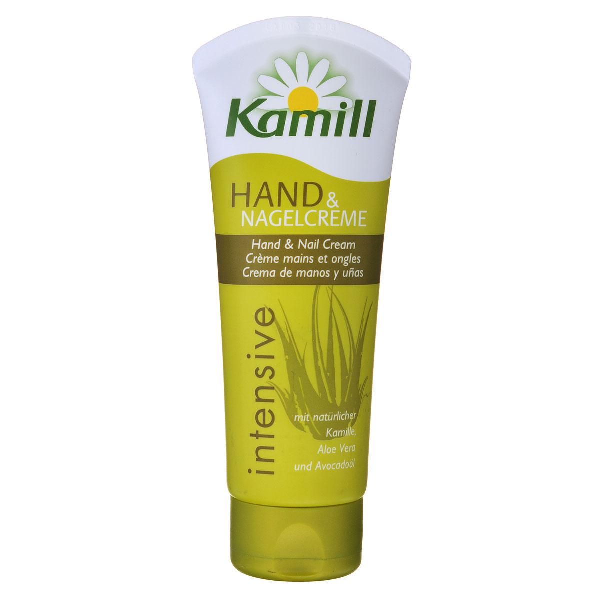 Kamill Крем для рук и ногтей Intensiv, 100 мл26950132Крем для рук и ногтей Kamill Intensiv дарит капризной и сухой коже интенсивную влагу на долгое время. Формула с концентратом ромашки, способствующая регулированию баланса кожи, действует успокаивающее и приятно ухаживает за кожей. Масло авокадо и алоэ быстро впитываются и интенсивно увлажняют кожу.Товар сертифицирован.