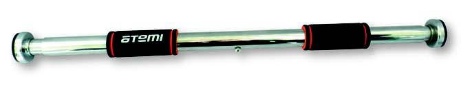 Турник дверной, Atemi, цвет: металлик, 66-92 см - Товары для фитнеса