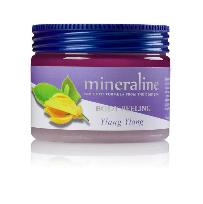 Mineraline Пилинг для тела Иланг-иланг, 500 гFS-00897Пилинг для тела Mineraline Иланг-иланг очищает и полирует кожу, делая ее мягкой и бархатистой. Активные вещества стимулируют ткани, нежно очищают кожу от мертвых клеток, насыщая ее полезными микроэлементами и витаминами.Иланг-иланг предупреждает преждевременное увядание кожи, стимулируя рост новых клеток в более глубоких слоях кожи, а также омолаживает, увлажняет и полирует кожу. Оказывает антисептическое и тонизирующее воздействие, а также обладает тонизирующим и бодрящим эффектом.Товар сертифицирован.