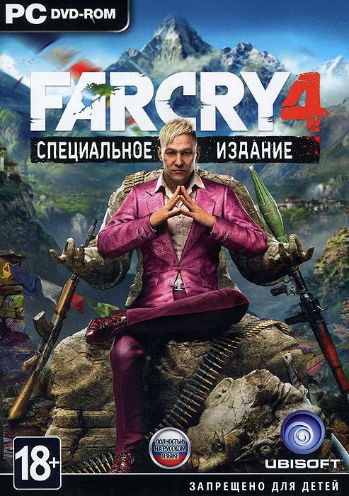 Far Cry 4. Специальное издание (3 DVD)