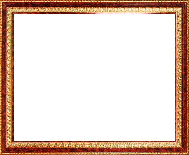 Багетная рама Renaissance, цвет: светло-коричневый, золотистый, 40 см х 50 смED602Багетная рама Renaissance изготовлена из пластика. Багетные рамы предназначены для оформления картин, вышивок и фотографий.Оформленное изделие всегда становится более выразительным и гармоничным. Подбор багета для картин очень важен - от этого зависит, какое значение будет иметь выполненная работа в вашем интерьере. Если вы используете раму для оформления живописи на холсте, следует учесть, что толщина подрамника больше толщины рамы и сзади будет выступать, рекомендуется дополнительно зафиксировать картину клеем, лист-заглушку в этом случае не вставляют. В комплекте - крепежные элементы, с помощью которых изделие можно подвесить на стену.