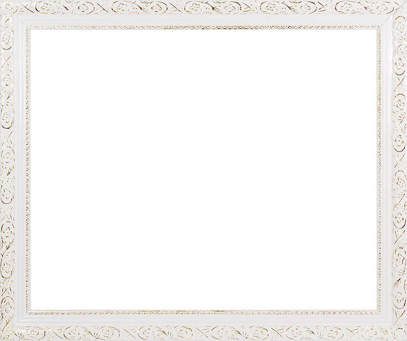 Багетная рама Antique, цвет: белый, золотистый, 40 см х 50 см40970Багетная рама Antique изготовлена из пластика. Багетные рамы предназначены для оформления картин, вышивок и фотографий.Оформленное изделие всегда становится более выразительным и гармоничным. Подбор багета для картин очень важен - от этого зависит, какое значение будет иметь выполненная работа в вашем интерьере. Если вы используете раму для оформления живописи на холсте, следует учесть, что толщина подрамника больше толщины рамы и сзади будет выступать, рекомендуется дополнительно зафиксировать картину клеем, лист-заглушку в этом случае не вставляют. В комплекте - крепежные элементы, с помощью которых изделие можно подвесить на стену.