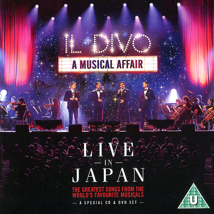 Il Divo Il Divo. A Musical Affair. Live in Japan (CD + DVD) il gioco dell angelo